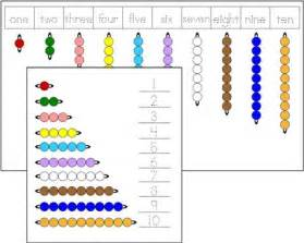 bead stair worksheets from montessori for everyone