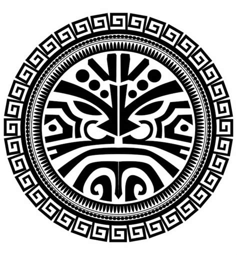 tribal circle tattoos 31 designs
