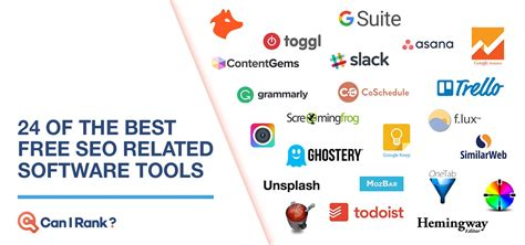 best free seo software 24 of the best free seo related software tools canirank