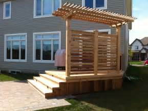 total deck quality wood decks deck contracting ottawa