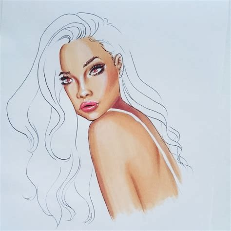 how to color skin tutorial how to colour skin with 3 copic markers fashion