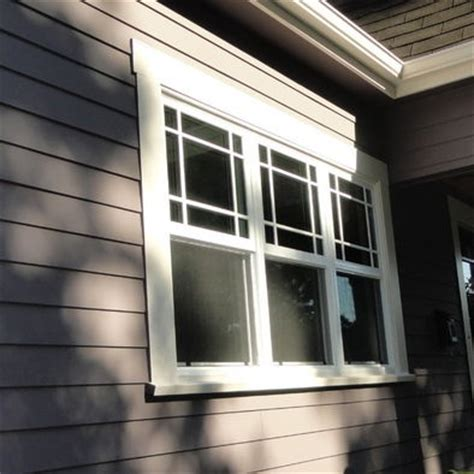 Craftsman Style Windows Decor Exterior Window Trim Ideas Studio Design Gallery Best Design