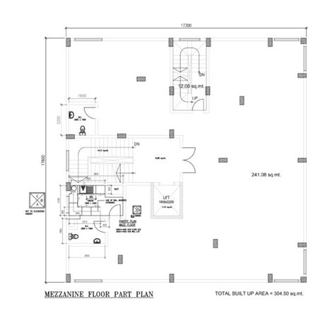 three bedroom ground floor plan three bedroom four flat house with mezzanine and ground floor