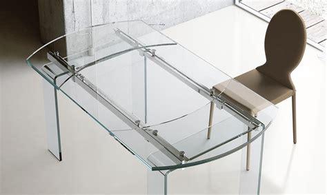 tavolo ovale allungabile vetro tavolo ovale allungabile in vetro lord meroni arreda