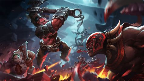 wallpaper dota 2 bloodseeker axe vs bloodseeker wallpaper dota 2 wallpapers