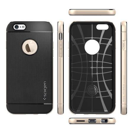 Spigen Iphone 6 Neo Hybrid Metal Chagne Gold spigen neo hybrid metal iphone 6s 6 chagne gold mobilezap australia