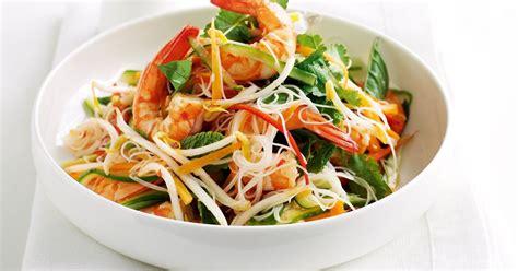 rice noodle salad vietnamese prawn rice noodle salad