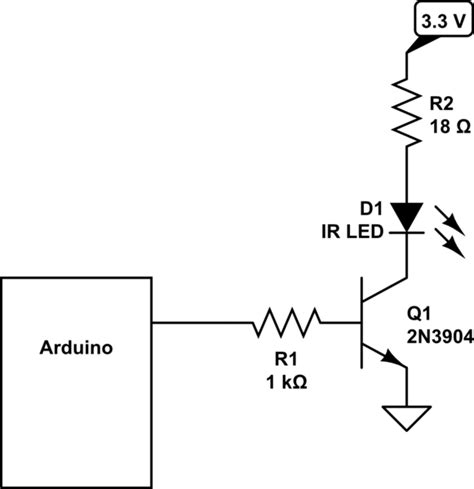 ir diode transistor how much voltage to give my ir led electrical engineering stack exchange