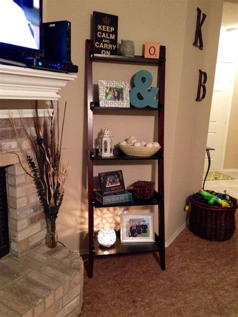 home decor for shelves 25 best ideas about ladder shelf decor on pinterest