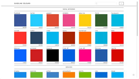 color themes on twitter new color scheme tools for the year 2013 jayhan loves