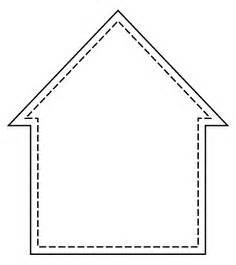 House Outline Template by 1000 Images About Printables And Templets On
