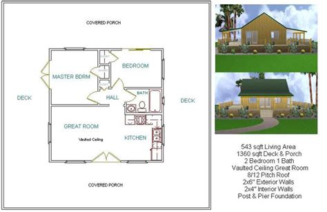 house plans 24x24 two bedroom 24x24 plan mostly small houses pinterest house plans wraparound and