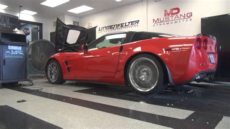 corvette engineering lingenfelter performance engineering custom dyno tuning c6