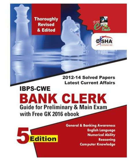 Ank Cwe new ibps cwe bank clerk guide for prelim exams 5th