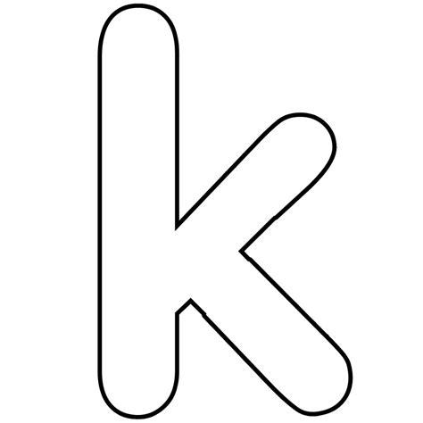 letter k template letter k dr