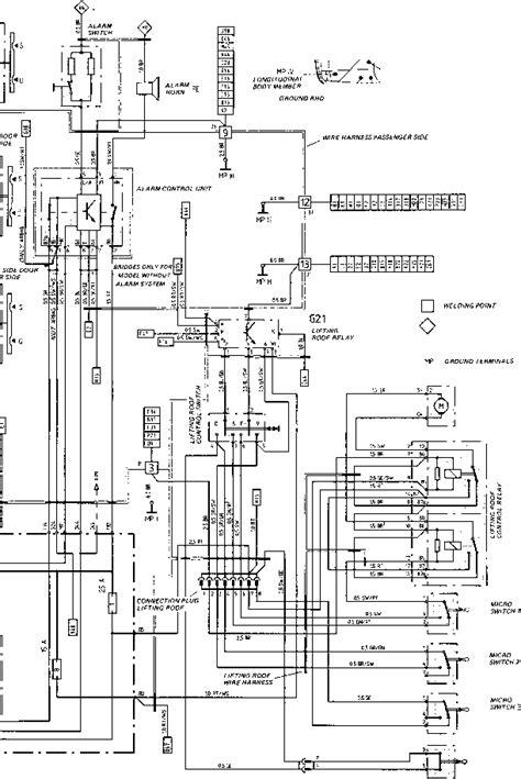porsche 944 wiring diagram wiring diagram type 944944 turbo 944 s model 87 porsche