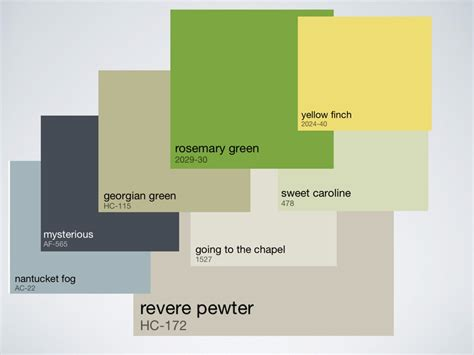 whole house color palette working roi design
