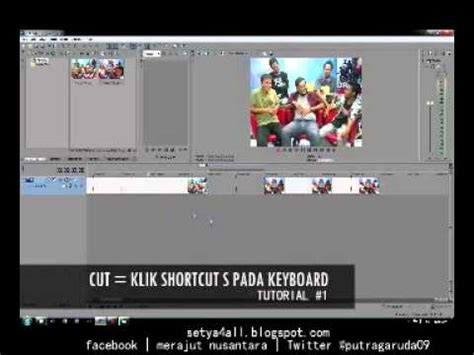 tutorial editing video sony vegas pro 11 20130912 tutorial basic cut render with sony vegas pro