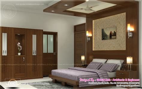 bedroom interiors india beautiful home interior designs by green arch kerala