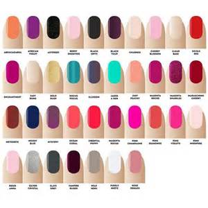colors nail salon gellux on topsy one