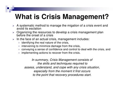 crisis management plan template why create a crisis management plan