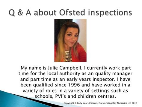 what is a section 5 ofsted inspection q a about ofsted inspections