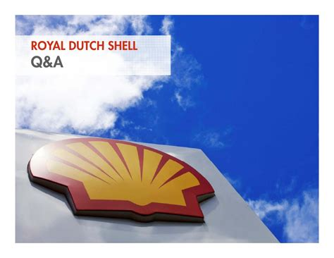 Media Webcast Presentation Royal Dutch Shell Fourth Royal Shell Ppt