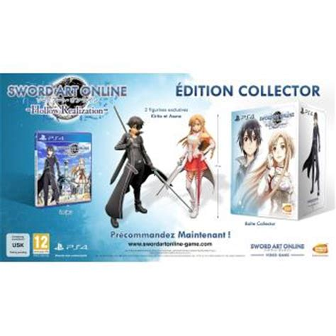 Cd Playstation Ps4 Sword Hollow Realization R3 sword hollow realization edition collector ps4