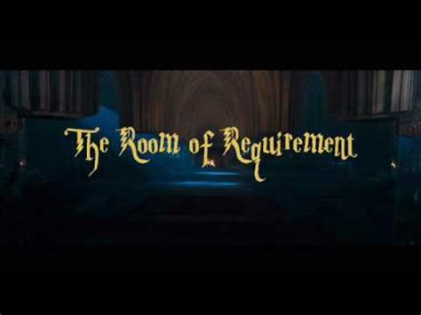 requirements to rent a hotel room the room of requirement