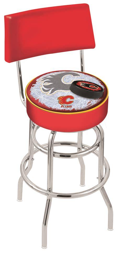 Stools Calgary by Calgary Flames Bar Stool W Official Nhl Logo Family Leisure