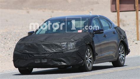 2018 acura tlx shows a new in the desert