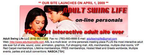 swing life site bankrupt runaway prius driver owns adult swinger site