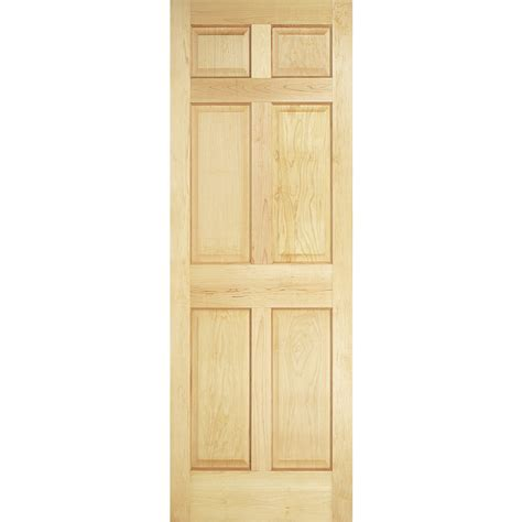 32x78 Exterior Door Shop Reliabilt Solid 6 Panel Pine Slab Interior Door Common 32 In X 78 In Actual 32 In