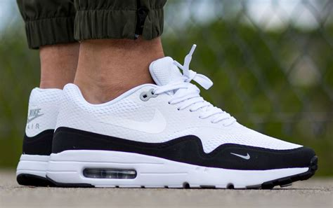 Nike Airmax One Black White nike air max 1 essential white black wolf grey sole collector