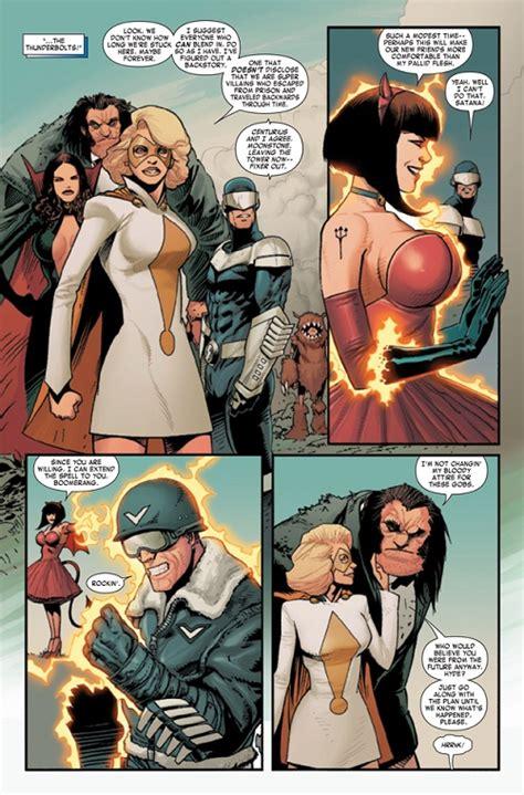 Komik Marvel Shadowland Thunderbolt nycc 2011 thunderbolts versus thunderbolts zona negativa