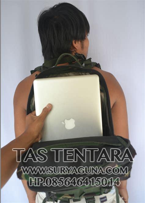 Tas Laptop Loreng tas laptop ransel army loreng tentara suryaguna