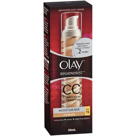 Olay Cc olay regenerist cc moisturiser medium spf 15 50ml chemist warehouse