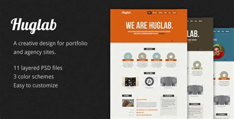 business portfolio template huglab business portfolio psd template by honryou