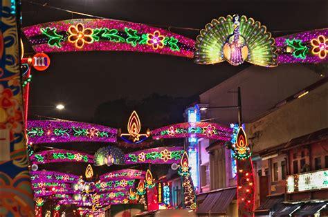 little decorations little india deepavali decorations