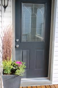 wrought iron paint color front porch reveal new door color satori design for living