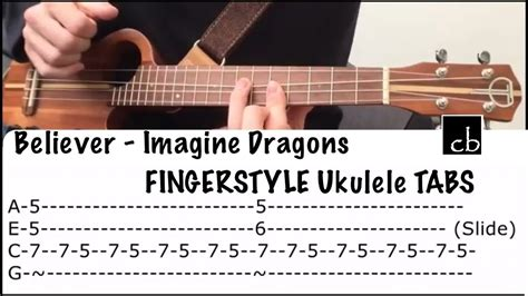 fingerstyle tutorial you are my sunshine believer imagine dragons fingerstyle ukulele tutorial