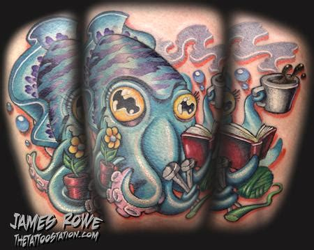 cuttlefish tattoo cuttlefish by rowe tattoonow