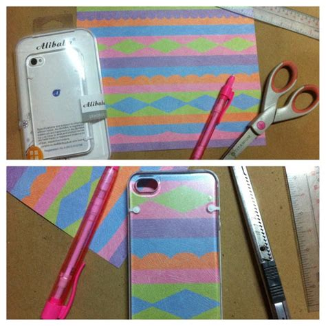 How To Make Phone Cases Out Of Paper - sartorial highness diy iphone