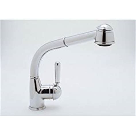 rohl r7903 country side lever pullout kitchen faucet rohl r7903lmtcb single hole side metal lever country