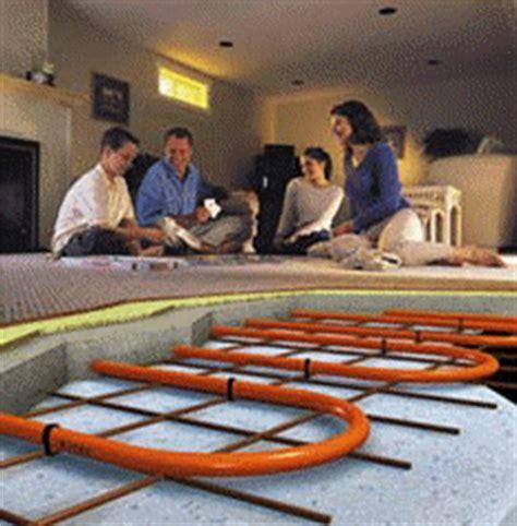 Radiant Floor Hydronic Heat   wood burning furnace   boiler