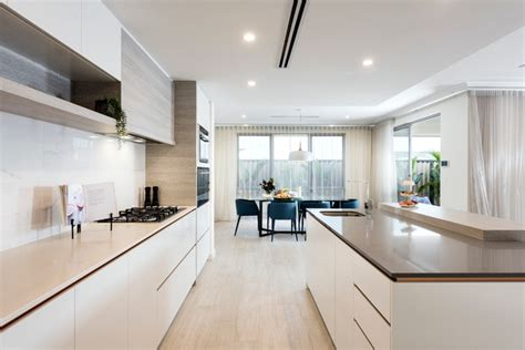 monaco display home in whitby modern kitchen perth