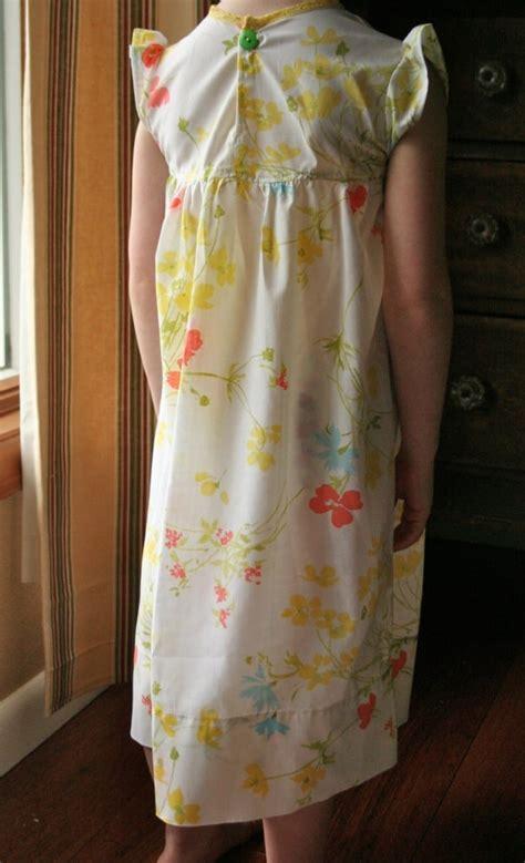 dress pattern nightdress vintage pillowcase nightgown tutorial pretty prudent