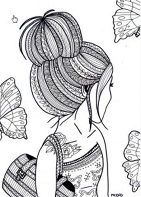 coloring pages of people s hair hattifant s favorite grown up coloring pages hattifant
