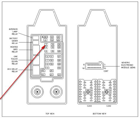 fuse box diagram  ford   wiring diagram fuse box