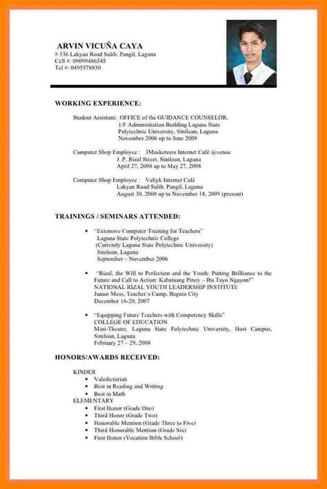 Resume Format Abroad 3 sle resume for abroad application lpn resume